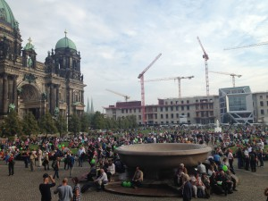 Blick Berliner Dom, neues Stadtschloss