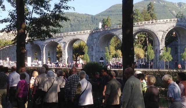 Lourdes – eine Reise wert…..